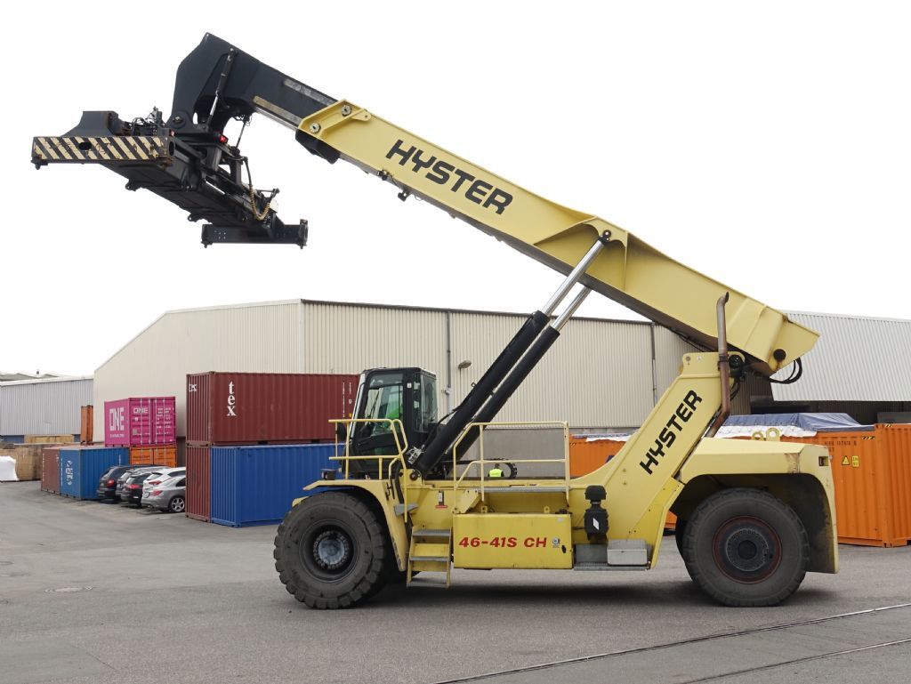 Hyster RS46-41S CH Full-container reach stacker www.hinrichs-forklifts.com