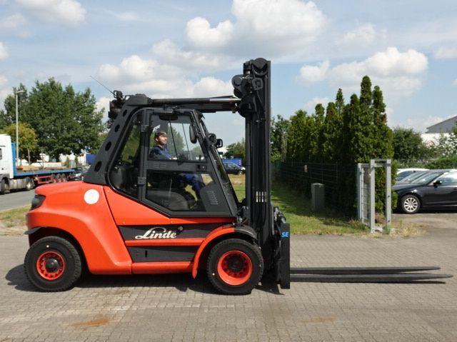 Linde H80D-02/900 Diesel Forklift www.hinrichs-forklifts.com