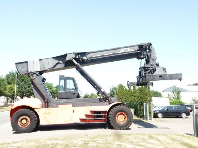 Linde C4531TL5 Vollcontainer Reachstacker www.MecLift.de