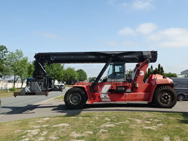 Kalmar-DRF450-70S5XS-Vollcontainer Reachstacker