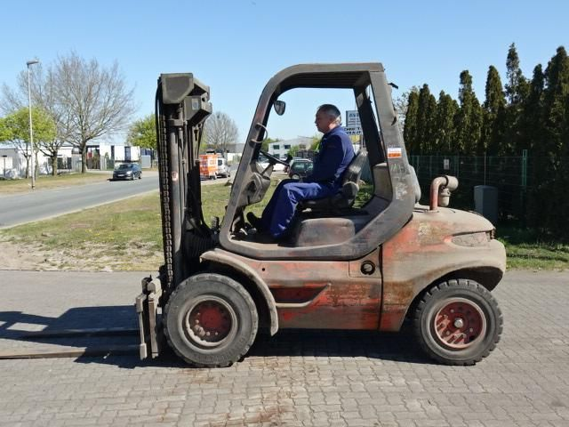 Linde H45D Diesel Forklift www.hinrichs-forklifts.com