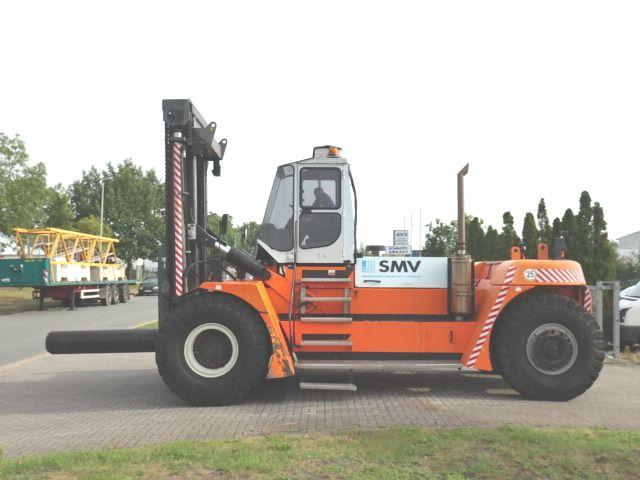 SMV SL37-1200A Diesel Forklift www.hinrichs-forklifts.com