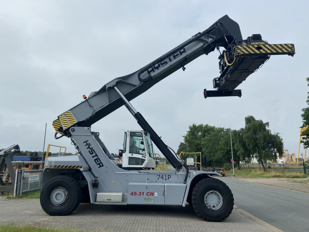 Hyster RS4531CH Vollcontainer Reachstacker www.MecLift.de