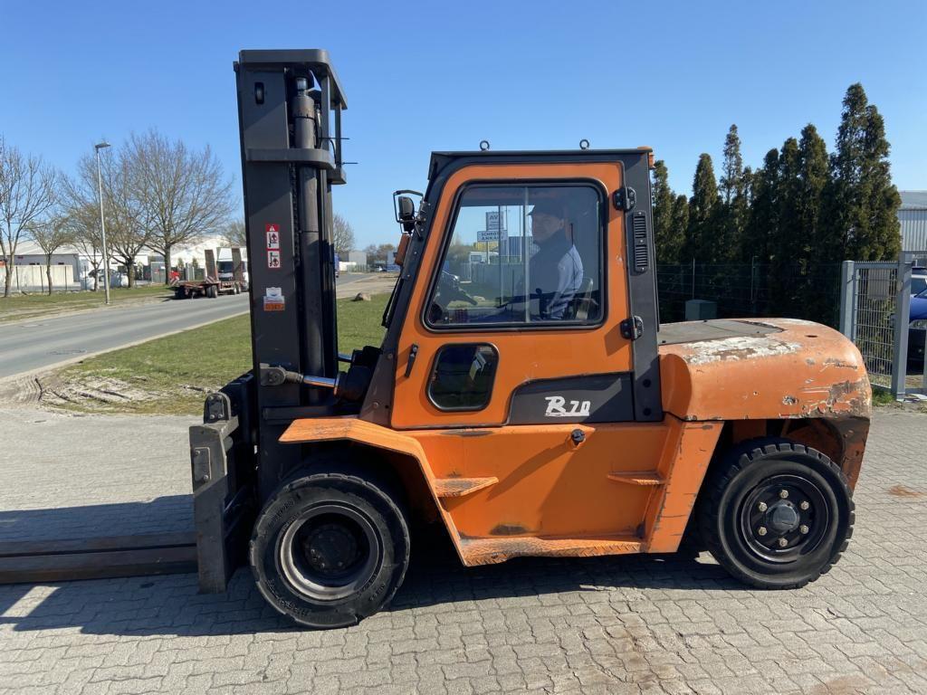 Hangcha CPCD70-RW14 Diesel Forklift www.hinrichs-forklifts.com