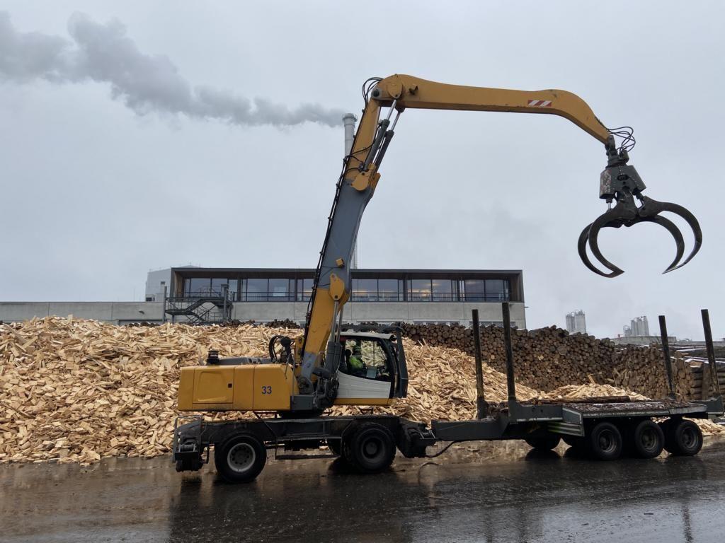 Liebherr LH35M Umschlagbagger Mobile excavator