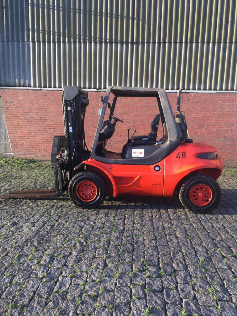 Linde H45D-04-600 Diesel Forklift