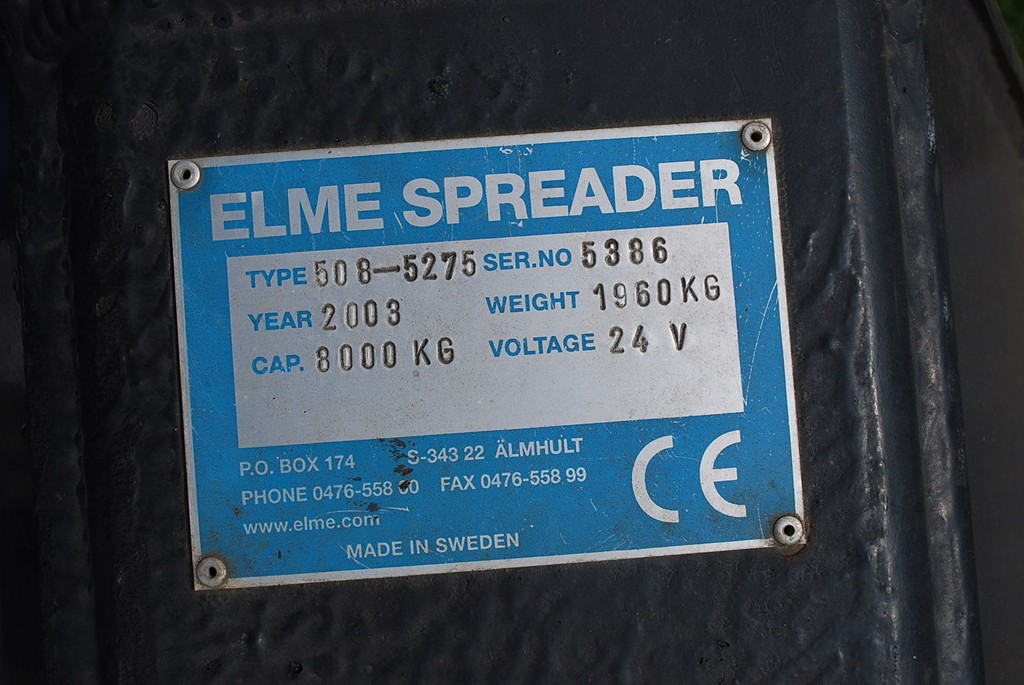 Elme Spreader 508-5275 40` Head-Spreader