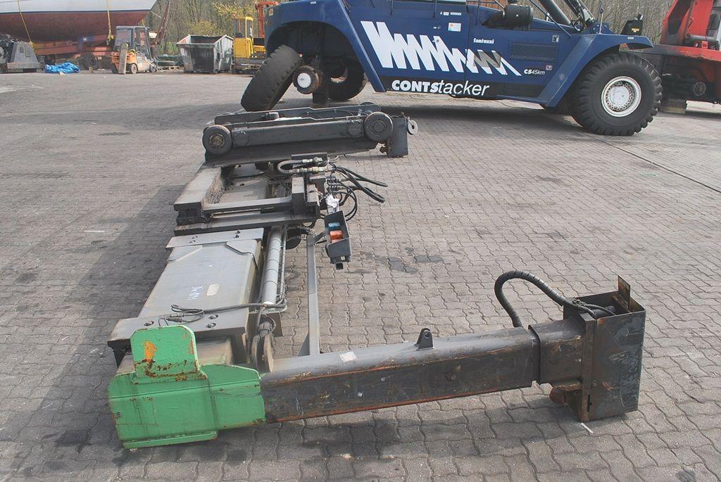 Kalmar 20-40 feet Sidespreader 20/40` Гидравлический разбрасыватель www.hinrichs-forklifts.com
