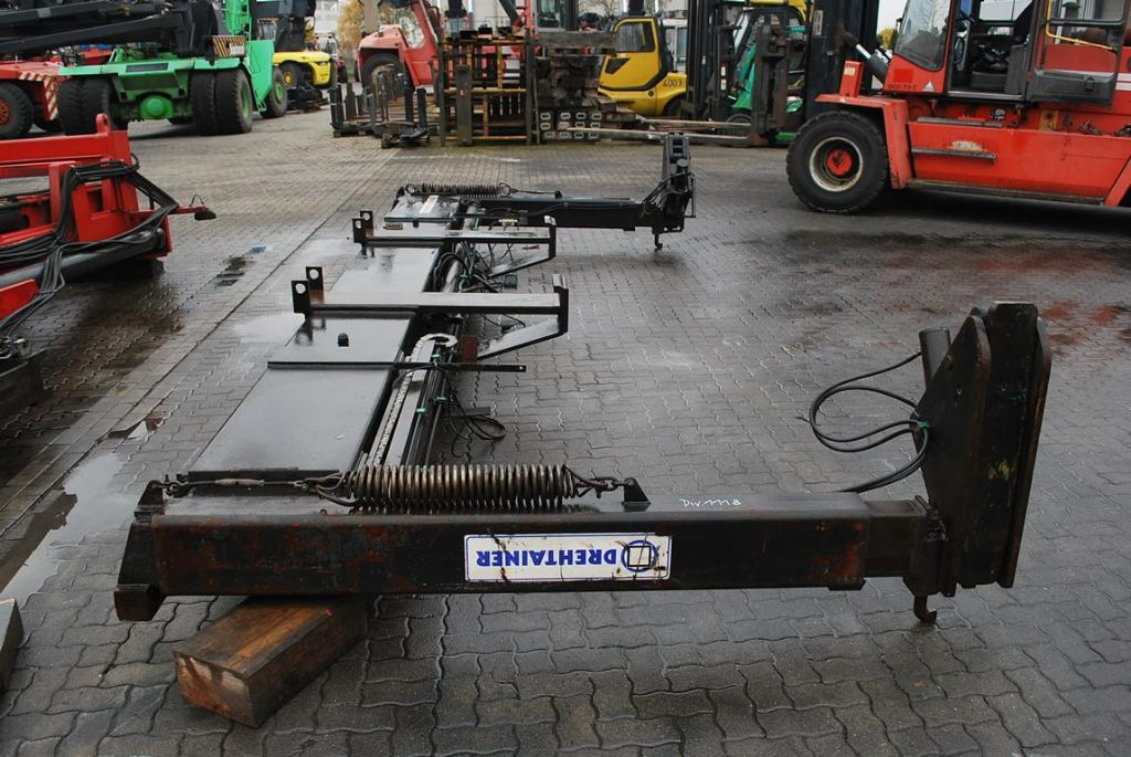 20-40 feet Sidespreader CV8669/98 20/40` Hydraulic Spreader