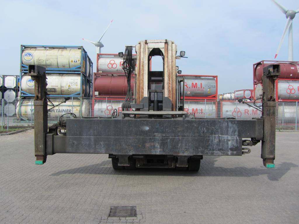 Svetruck ELME 20-40 feet Sidespreader 568 20/40` Hydraulic Spreader www.hinrichs-forklifts.com