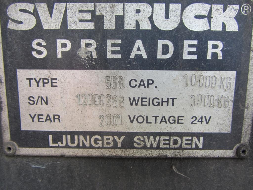 Svetruck ELME 20-40 feet Sidespreader 568 20/40` Hydraulic Spreader