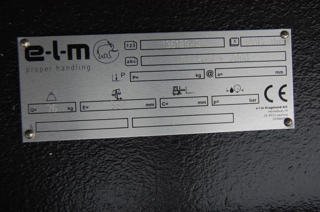 *Sonstige Gabelverlängerung E-L-M GF KL3x2000
