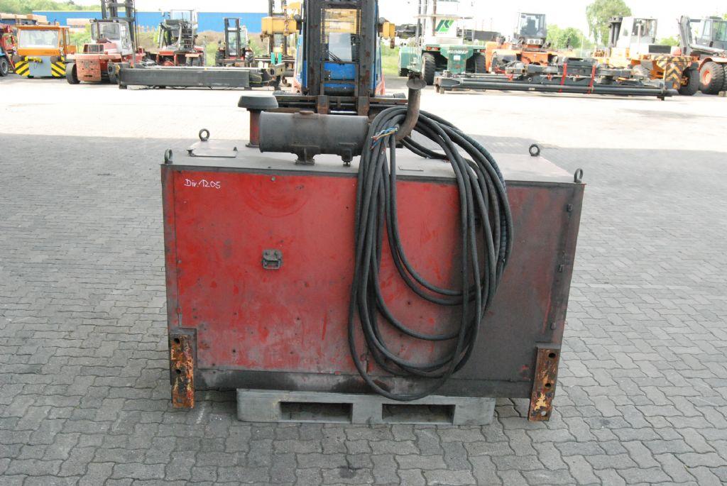 *Sonstige Dieselaggregat für Magnetanlage Motors, filters, cooling and exhaust systems www.hinrichs-forklifts.com