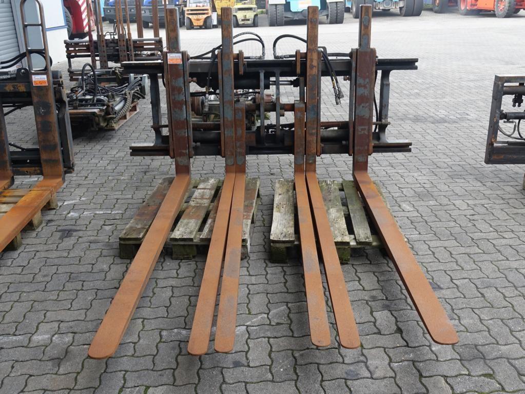 Kaup Dreifachpalettenklammer 10T419-4-6 Multi-pallet handler 2/1 profile type www.hinrichs-forklifts.com