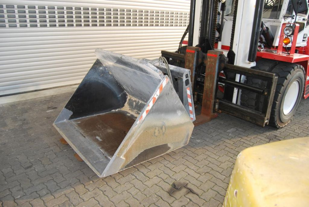 *Sonstige Krüger SGSL-100 Hydraulic scoops www.hinrichs-forklifts.com