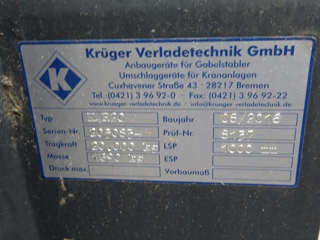 *Sonstige Krüger KR20 Kranarm www.MecLift.de
