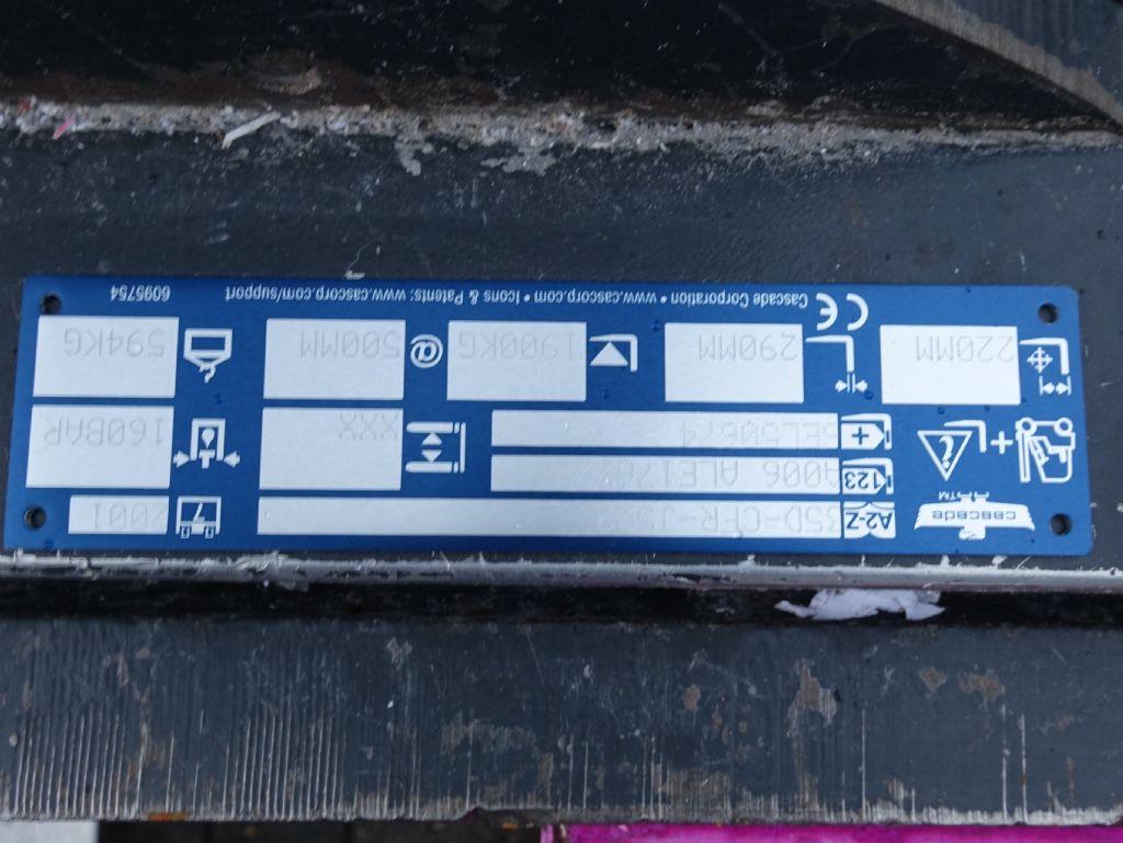 Cascade 35DCFR-J522 Drehgabelklammer www.MecLift.de