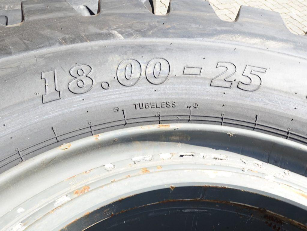 Kalmar 18.00-25 Tires, inkl. Rim., Pair Tyres