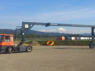 *Sonstige Container Mover  Vollcontainer Reachstacker www.hinrichs-forklifts.com