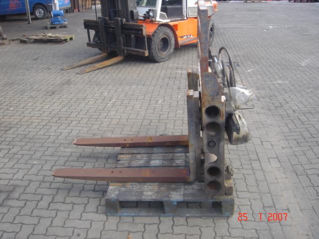 Durwen Klammergabel 30UVA Fork clamps