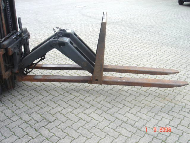 Kaup Ausschubgabel 2T140SV Push-out forks www.hinrichs-forklifts.com