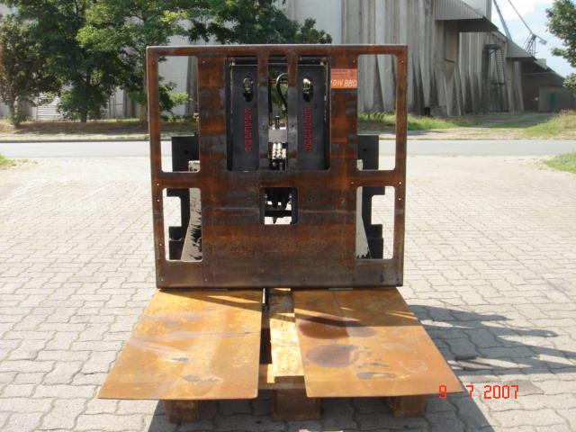 Cascade Kartonschieber 4SE-LS-085 Gabeln www.hinrichs-forklifts.com