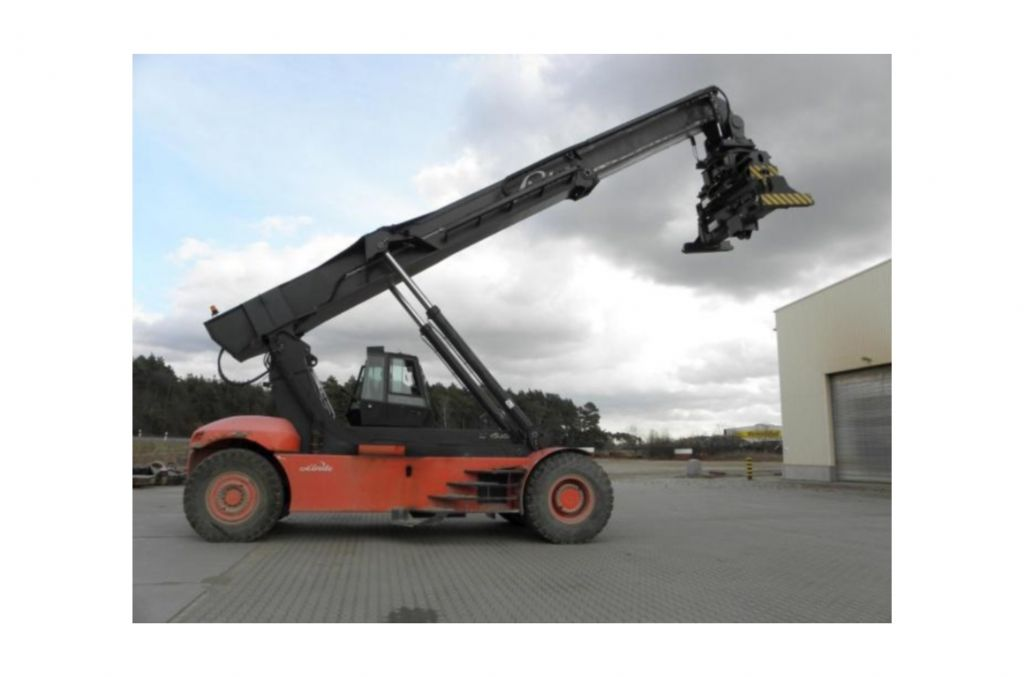 Linde C4535TL/5 Vollcontainer Reachstacker www.hinrichs-forklifts.com