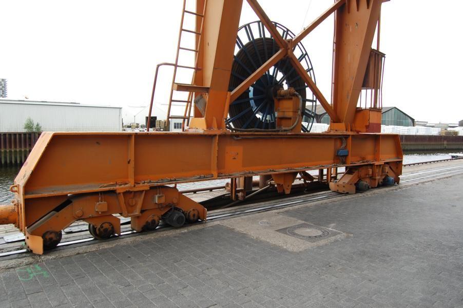 Krups Krupp Crane Full-container reach stacker