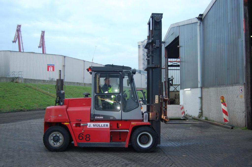 Kalmar DCE80-6 Diesel Forklift www.hinrichs-forklifts.com