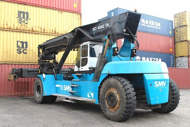 SMV SC4542TA5 Full-container reach stacker