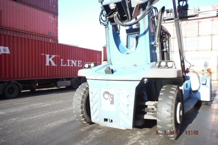 Kalmar DRF100-54S6 Empty Container Reachstacker