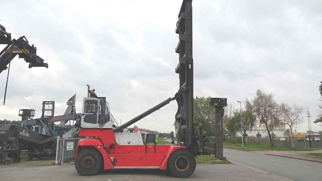 SMV SL 5/6 ECB 100DS Empty Container Handler www.hinrichs-forklifts.com