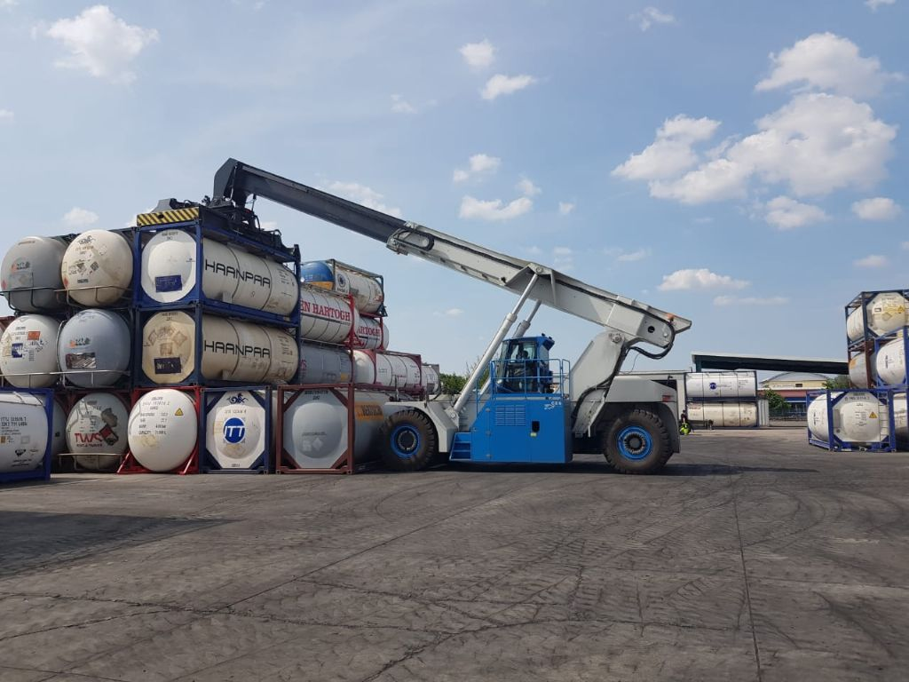 Voll Container Reachstacker-VRS-VRS-C
