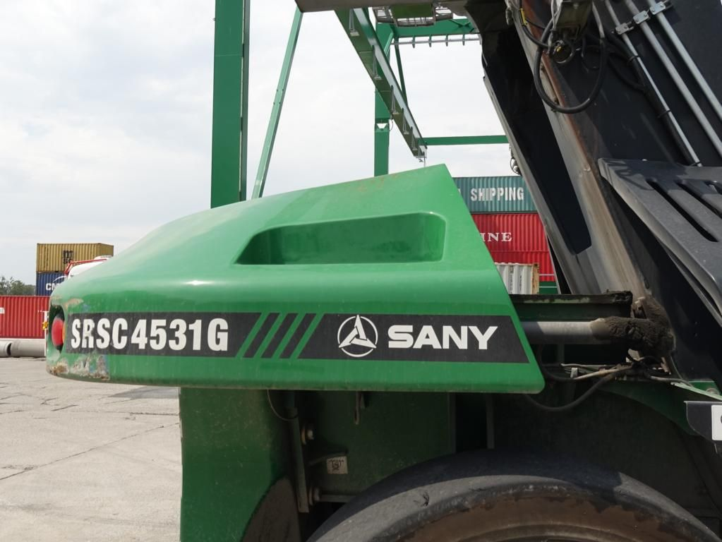 Sany SRSC4531G Vollcontainer Reachstacker