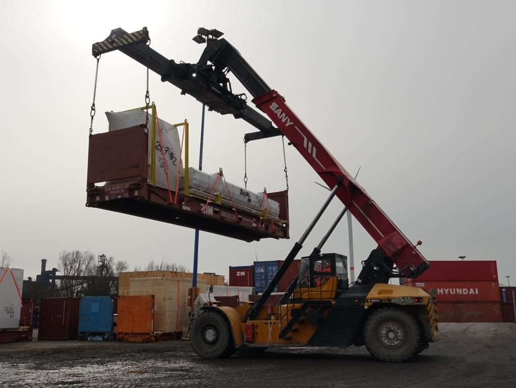 Sany SRSC4535G Full-container reach stacker