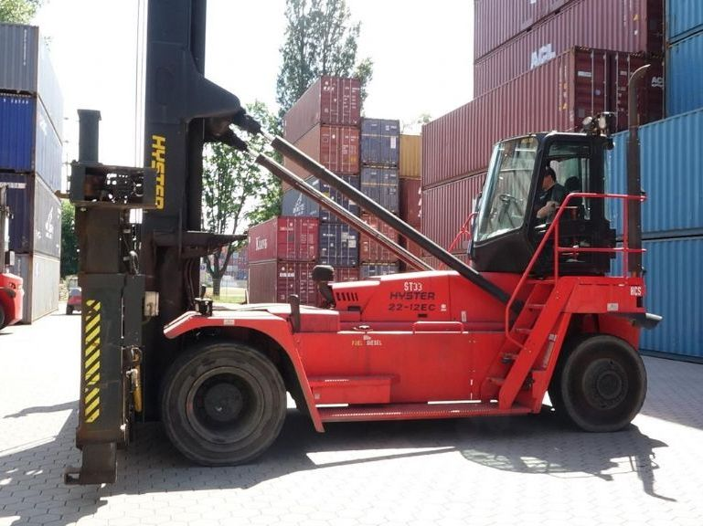 Hyster H22XM-12EC Empty Container Handler www.hinrichs-forklifts.com