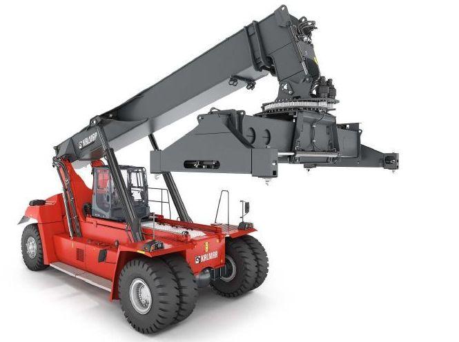 Kalmar-DRG450-65S5-Vollcontainer Reachstacker