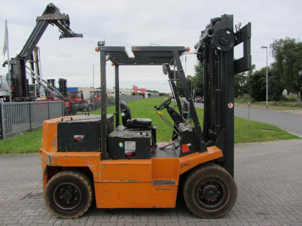 Linde E60 Elettrico 4 ruote www.hinrichs-forklifts.com