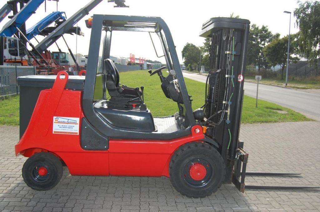 Linde E40P-02 Electric 4-wheel forklift