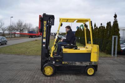 Hyster E5,50XL Electric 4-wheel forklift www.hinrichs-forklifts.com