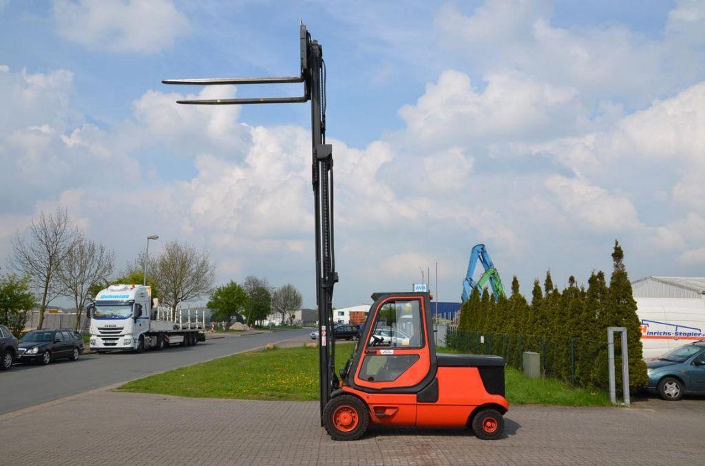 Linde E48P Electric 4-wheel forklift