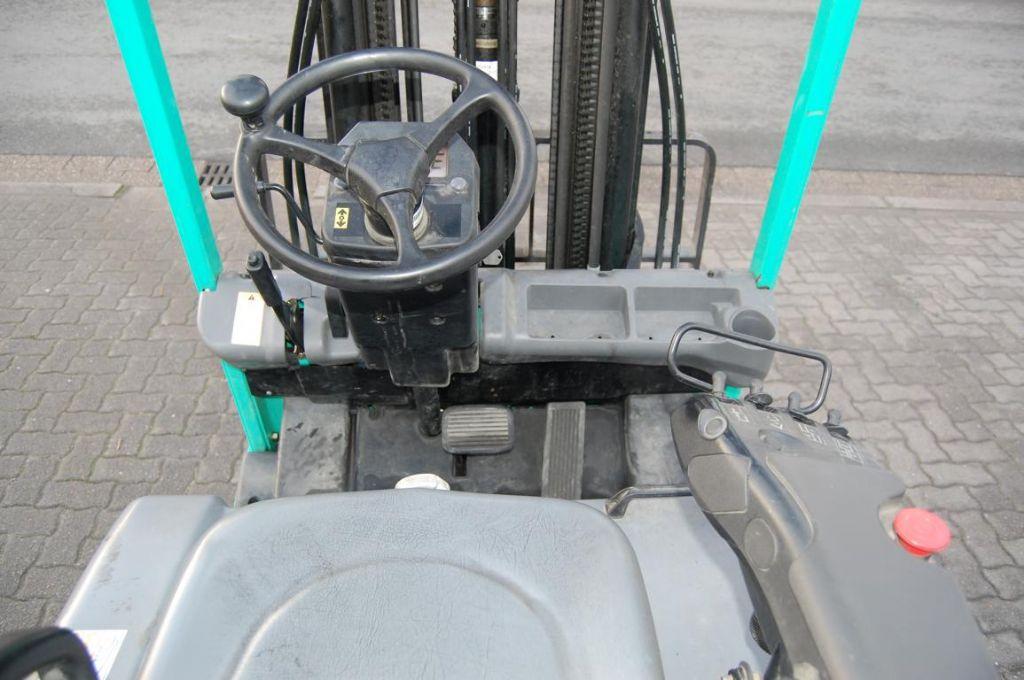 Mitsubishi FB18NT Electric 3-wheel forklift