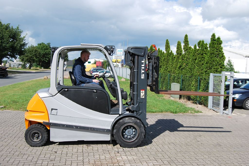 Still RX60-50 Electric 4-wheel forklift