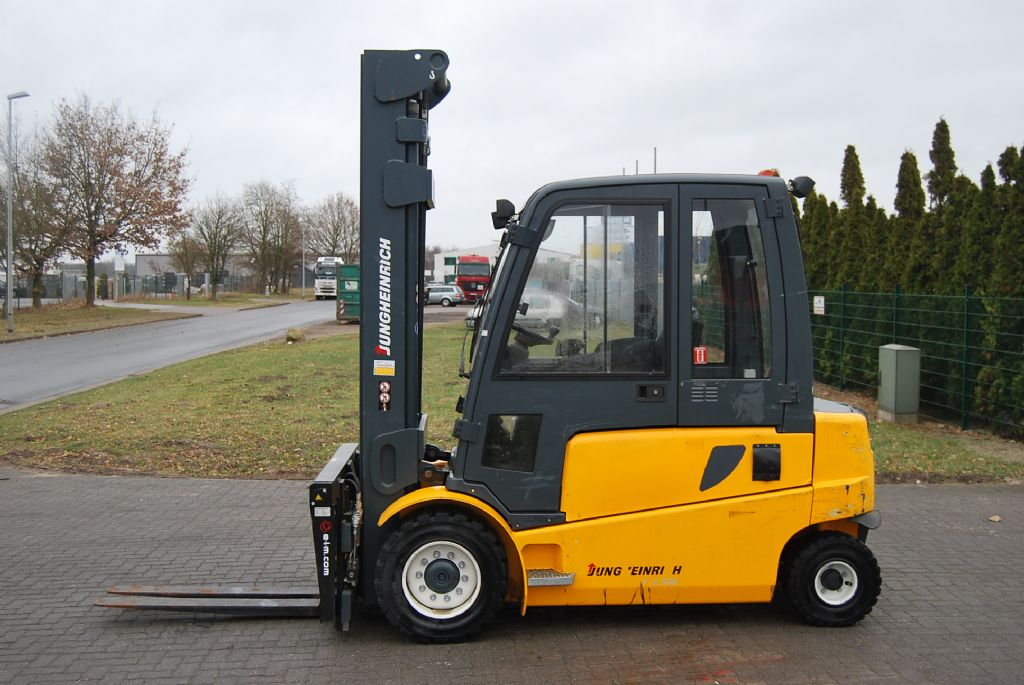 Jungheinrich EFG550SP G+E-120-642D2 Electric 4-wheel forklift