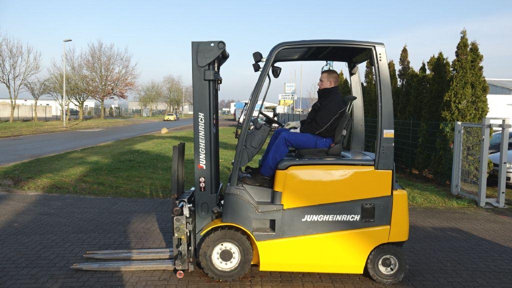 Jungheinrich EFG430/ SP G+E 120-370 2F Electric 4-wheel forklift