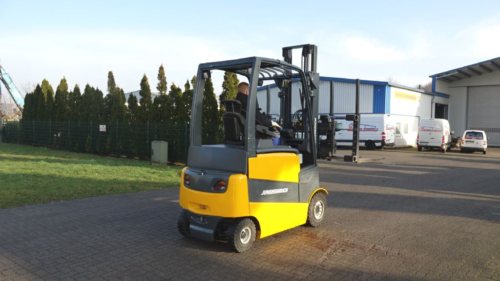 Jungheinrich EFG430/ SP G+E 120-370 2F Electric 4-wheel forklift