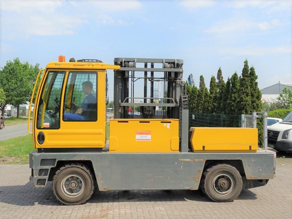 Baumann EGX50/16/60TR Electric side stackers www.hinrichs-forklifts.com