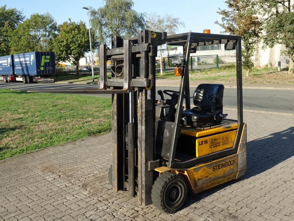 Steinbock Boss LE16-100MPMKAI-A1 Electric 3-wheel forklift