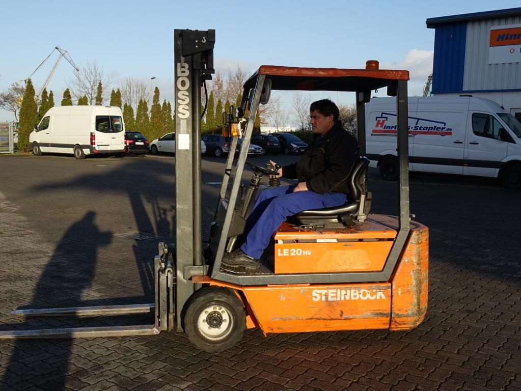 Steinbock Boss LE20-66HUMPMKVT Elettrico 3 ruote www.hinrichs-forklifts.com