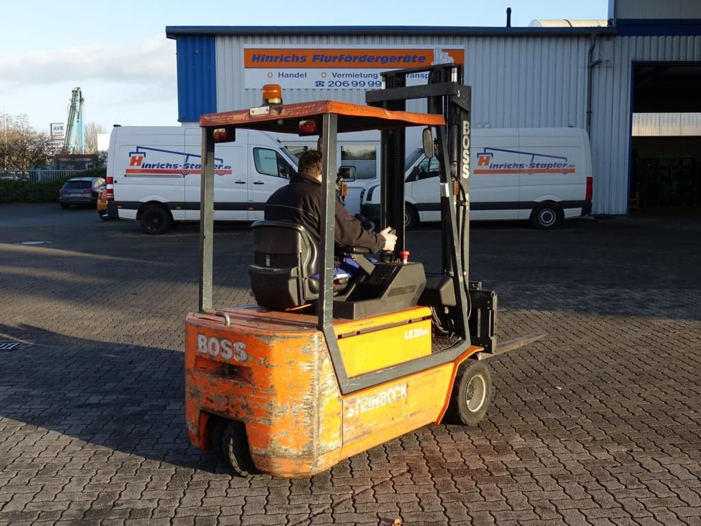 Steinbock Boss LE20-66HUMPMKVT Electric 3-wheel forklift